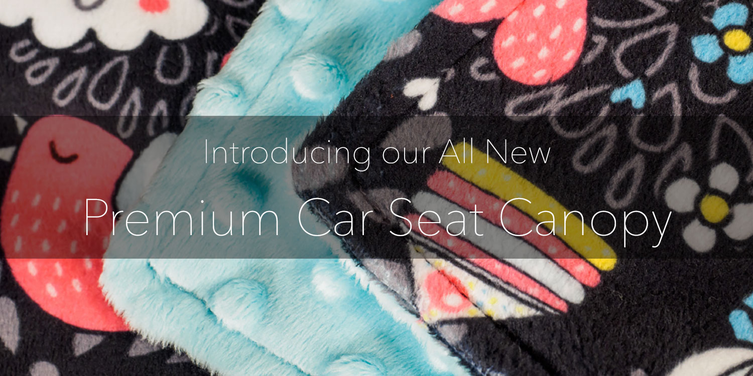 Introducing bblulove's Premium Baby Car Seat Canopy Cover